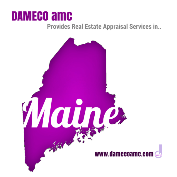DAMECO amc appraisal services MAINE