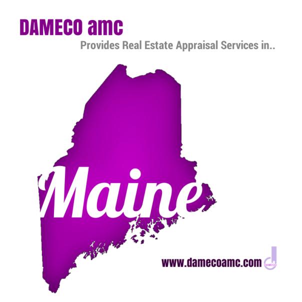 DAMECO amc appraisal services MAINE