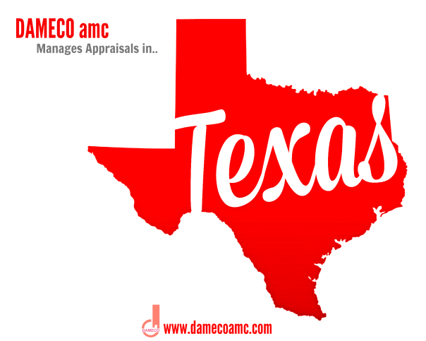 DAMECO amc appraisal services TEXAS