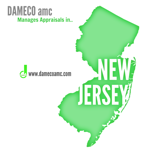 DAMECO amc appraisal service NEW JERSEY