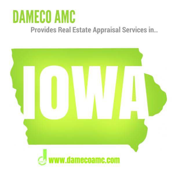 DAMECO amc appraisal services IOWA