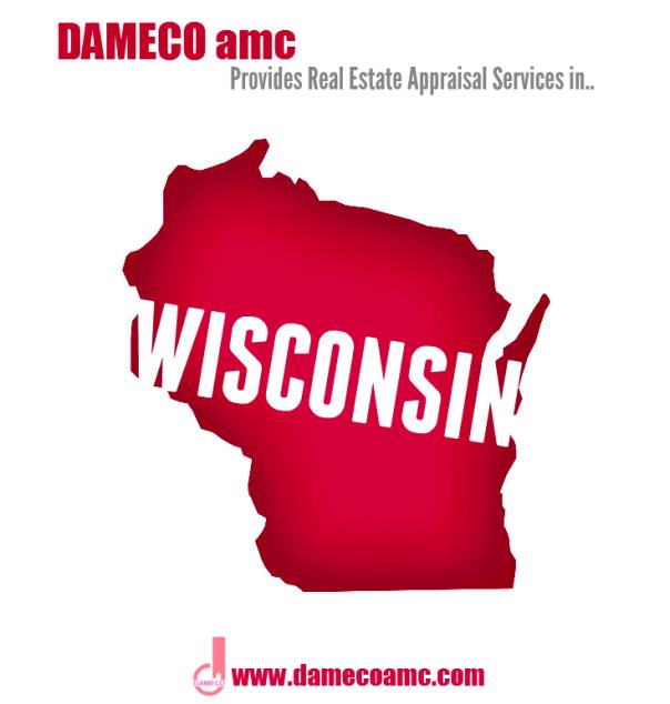 DAMECO amc appraisal service WISCONSIN