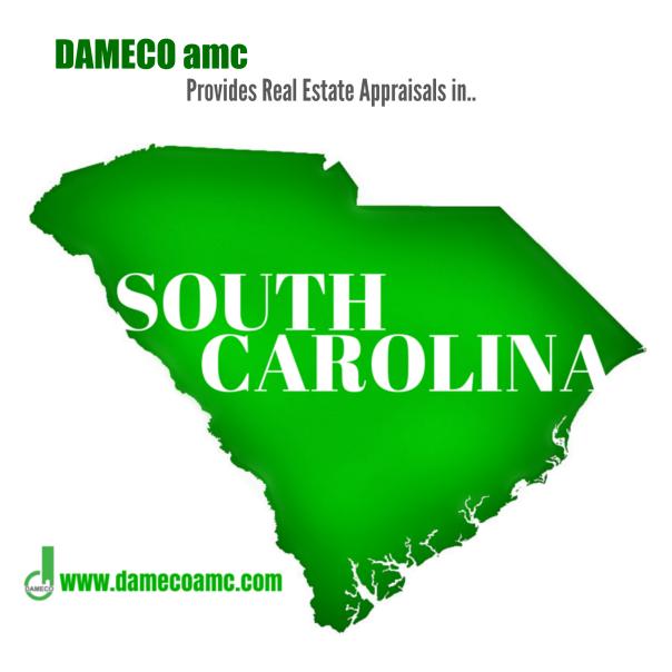 DAMECO amc appraisal services South Carolina